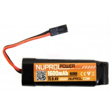 Nuprol 8,4V NiMH 1600mAh - Stick Type