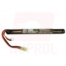 Nuprol 7,4V Lipo 1200mAh 20c - Slim Stick Type