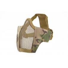 Mesh Mask With Fabric Side - Multicam
