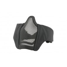 Mesh Mask With Fabric Side - Black FAST HELM MOUNT