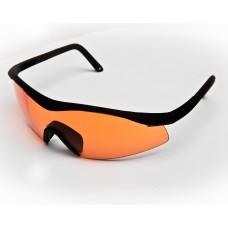 TTD Italia Anti Fog Veiligheidsbril - Orange