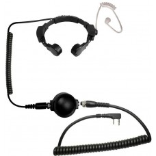 Code Red Headsets Tactical Throat Mic - Kenwood/Baofeng