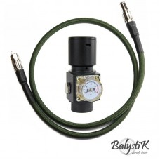 Balystik Regulator HPR800C V2 With Remote Line - Black/Green