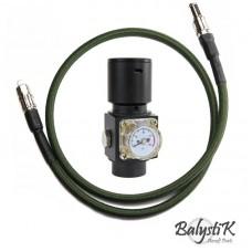 Balystik Regulator HPR800C V2 With Remote Line - Black/Green
