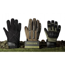 Makhai Finger Bone Gloves - Green/Black