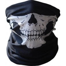 Black Seamless Skull Face