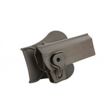 Cytac High Capa Paddle Roto Holster Coyote - RH