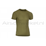 Under Armour Tactical HeatGear Compression Tee - OD