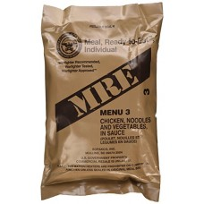 US MRE Meal 3 - Chicken with Egg Noodle and Vegetables
