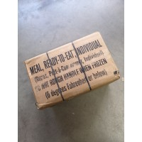 US MRE's Box A Menu 1-12