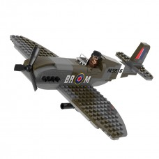 Sluban WWII Supermarine Spitfire M38 70071