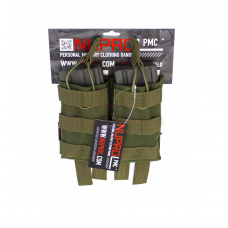 Nuprol PMC M4 Double Open Top  Mag Pouch - OD