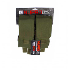 Nuprol PMC M4 Double Closed Top Mag Pouch - OD