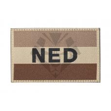 Claw Gear Nederlandse Vlag Patch Stof - Desert