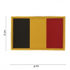 BE Vlag Pvc Patch