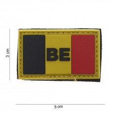 BE Flag Pvc Patch - Small