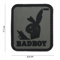 Badboy PVC patch grijs