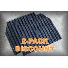 Pre-Order TacVent Body Armour Ventilation Plate - Duo Pack Black