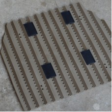 Pre-Order TacVent Body Armour Ventilation Plate - Single FDE