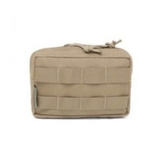 Warrior Assault Systems Elite Ops Small Horizontal Molle Pouch - Coyote