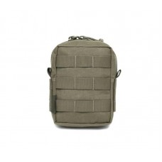 Warrior Assault Systems Small Molle Utility Pouch - Ranger Green
