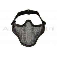 Invader Gear Half Face Mask - Zwart
