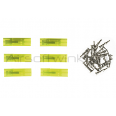 King Arms Mini Type Connector Plugs 6 stuks