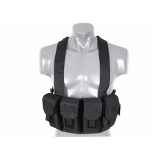 8FIELDS Chest Rig - Zwart