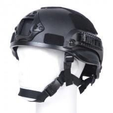 Mich 2002 helm - zwart