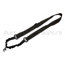 Invader Gear One Point Flex Sling - Zwart